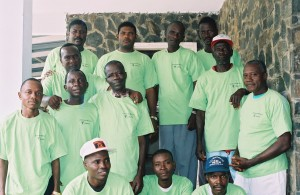 First Grassroots pastors training, 2003.