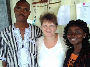 Former English Language students, now doing mission work in Lofa County
