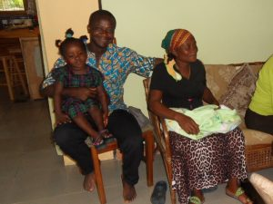 Eric, Betty, Linda and Esther